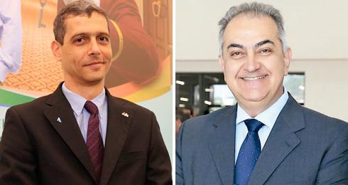 Luciano de Almeida Marcato e Renato Nogueira de Carvalho - Representantes ABRAVA