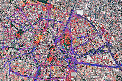 InterNoise 2018: The use of pilot areas as a base for large-scale strategic noise mapping: technical aspects and application of software-based strategies