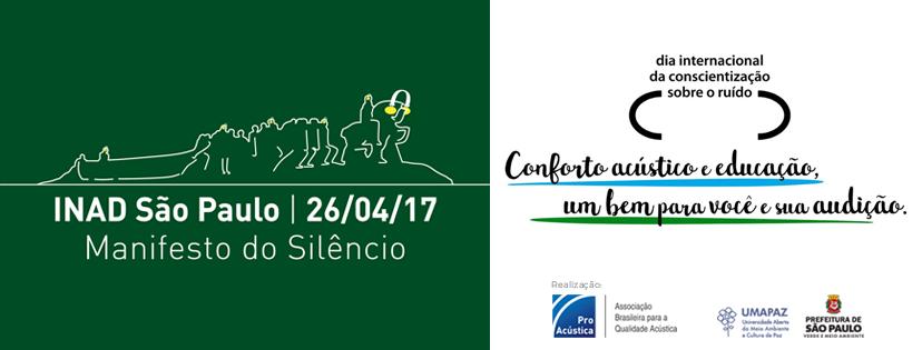 ProAcústica INAD 2017 - Dia Internacional de Conscientização Sobre o Ruído